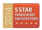 5 Star Franchisee Satisfaction 2014