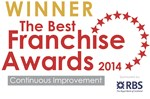 2014 Best Franchise Awards Continuous Improvement Award