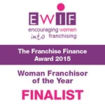 EWIF Franchisor of the year finalist 2015
