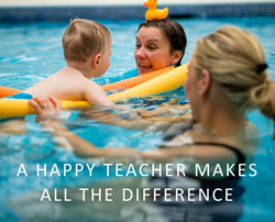 Interested in becoming a baby, toddler and pre-school swimming teacher?