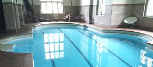Chilham House Swimming Pool