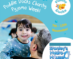 Charity Pyjama Week supporting Stanley's Hydro House this November