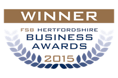 Winner - FSB Herts Business Awards 2015