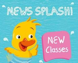 New Baby and Pre-school classes