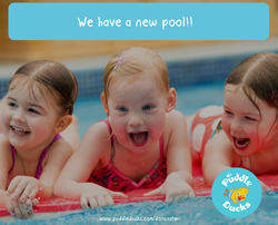 News Splash! We have a new pool!