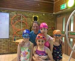 Puddle Ducks Swimmers Complete Swimathon