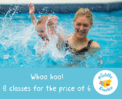 Swimming lessons at the Aspire Centre, Southfields