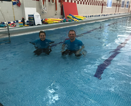 Swimming Lessons At The Aspire Centre Southfields Puddle Ducks