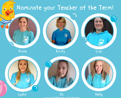 Nominate your Teacher for Teacher of the Term Summer 2017!