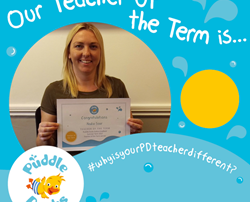 Teacher of the Term (Summer 2017) Winner!