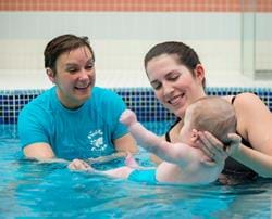 How do I become a baby swimming teacher?