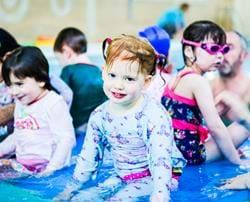 Swimming in PJs to raise money for National Star