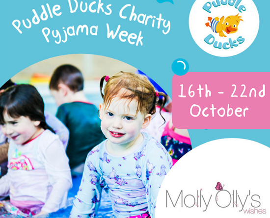 Pyjama Week for Molly Olly's Wishes is Coming!