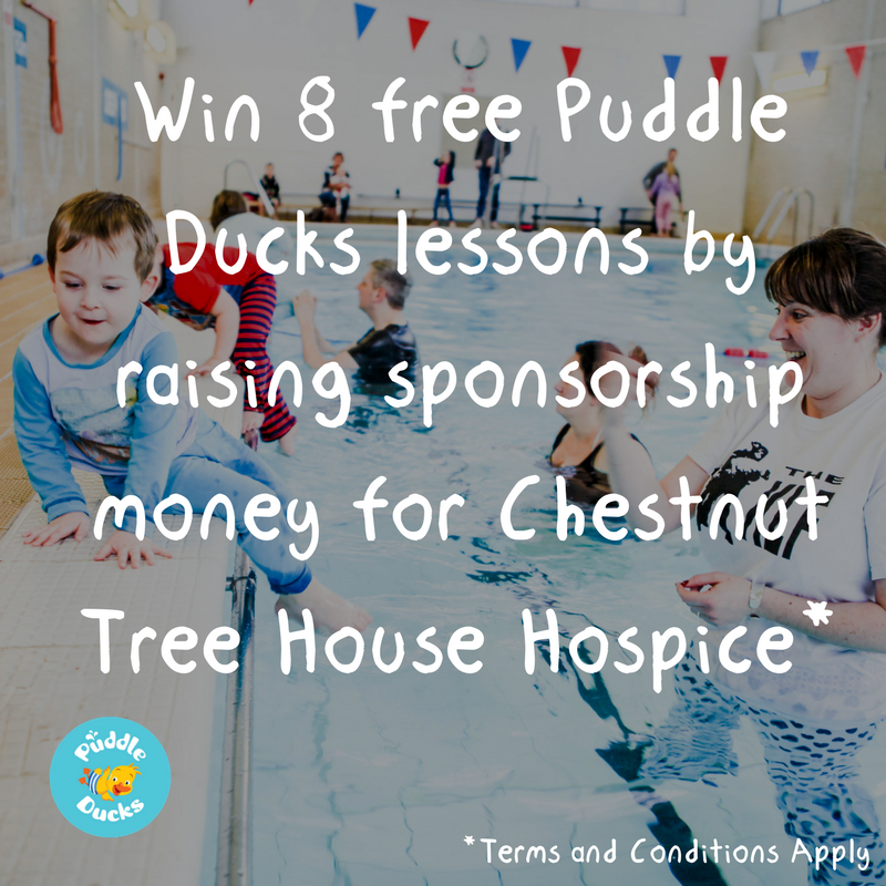How to help us to support Chestnut Tree Hospice and win 8 free lessons!
