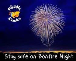 Top tips for keeping kids safe on bonfire night...