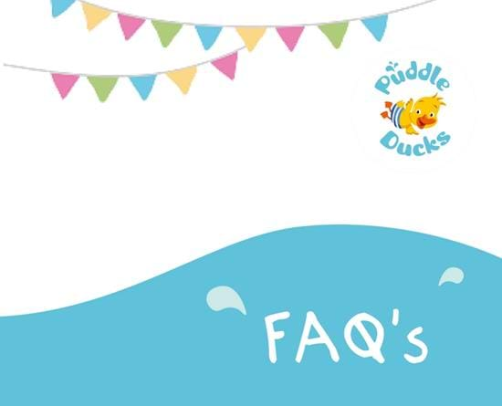 FAQ's regarding the restart of Puddle Ducks lessons in relation to COVID-19