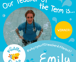 A huge well done to Emily for being our Teacher of the Term!