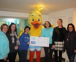 Our little swimmers make a big splash for charity