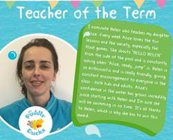 Teacher of the Term December 2017
