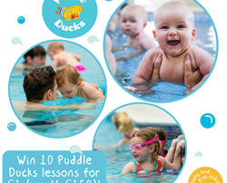 Win 10 Puddle Ducks lessons for just £1!