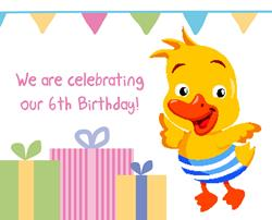 Happy Birthday to Puddle Ducks Gloucestershire