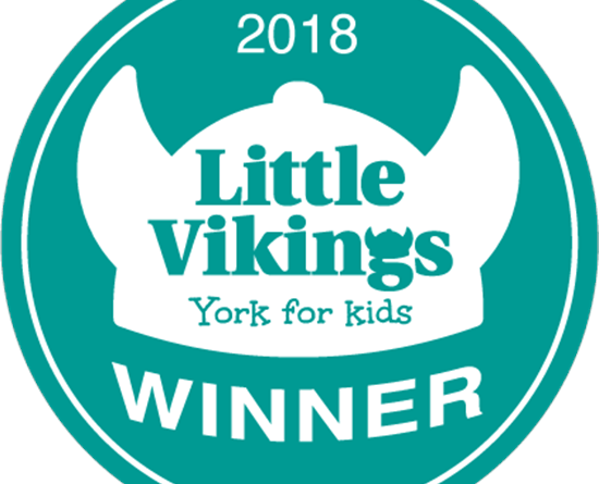 Winners of the Best Baby and Toddler Swimming class in York for the second year running!
