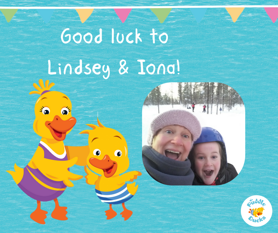 Our super teacher Lindsey is swimming 5km for a great cause!