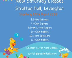 New Saturday Classes!