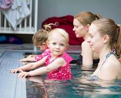 "Baby swimmers graduate to ""Little Dippers"" at Woolley"