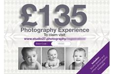 FREE photography experience at Studio 27!