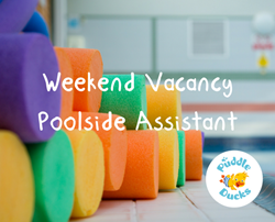 Join our team - Poolside Assistant Weekend Work