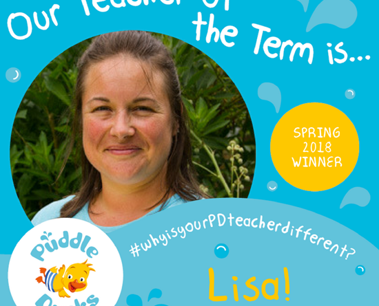 Lisa is our Spring Teacher of the Term 2018