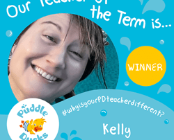 Congratulations to Kelly - National Teacher of the Term!!