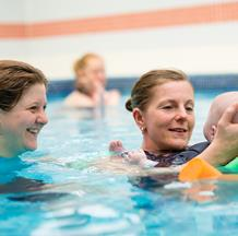 Ali Beckman is Puddle Ducks' Technical Director and Head Teacher, and she is one of the country's leading experts in swimming teaching.