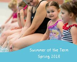 Swimmers of the term - Spring 2018
