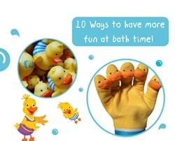 10 ways to have more fun at bath time