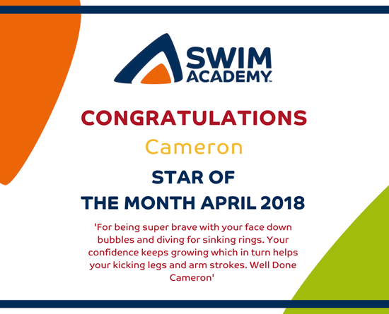 Well Done Cameron!!