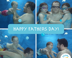 Swim with your Dad on Father's Day