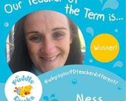 Congratulations Ness - our Summer 2018 Teacher of the Term
