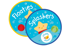 Our Floaties class, suitable from birth to 6 months is the perfect introDUCKtion to swimming and leads into our Splashers class (6-15 months) where our happy, splashy babies really start to explore their independence in the water. Watch our videos – they will make you smile 😊