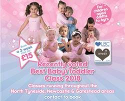 Special offer from Baby Ballet