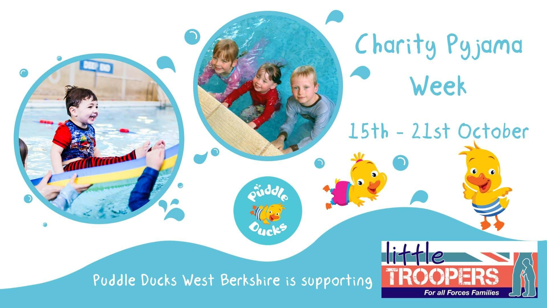 Puddle Ducks Pyjama Party! 15th - 21st October