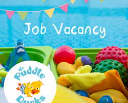 Weekend job vacancy at Puddle Ducks