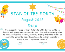 Star of the Month - August 2018