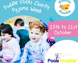Poole Hospital Charity is chosen for Charity Pyjama Week!