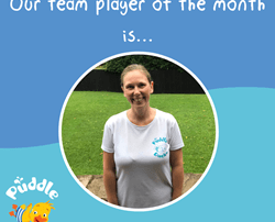 Our Team Player of the month is Vicky