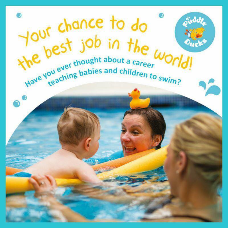 Would you like to be a swimming teacher?