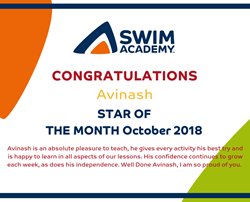 Star of the Month - October 2018