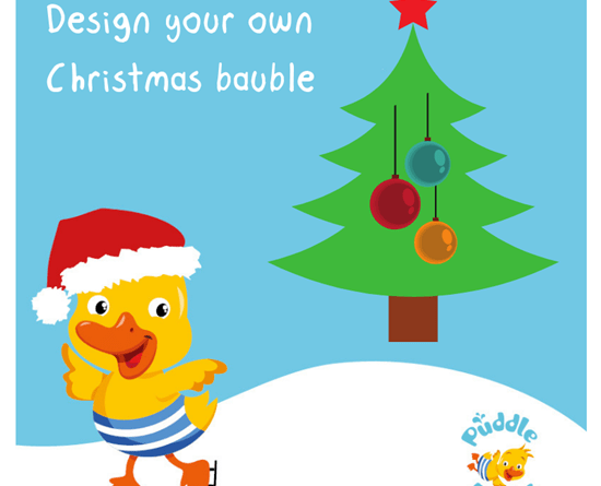 Design your own Christmas bauble