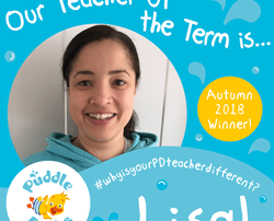 Lisa is our Teacher of the Term, Autumn 2018!